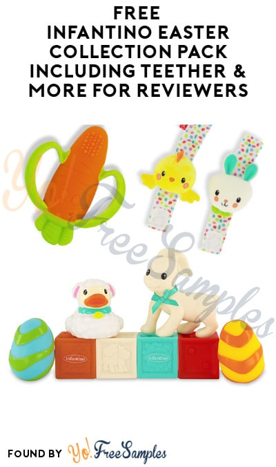 FREE Infantino Easter Collection Pack Including Teether & More for Reviewers (Must Apply)