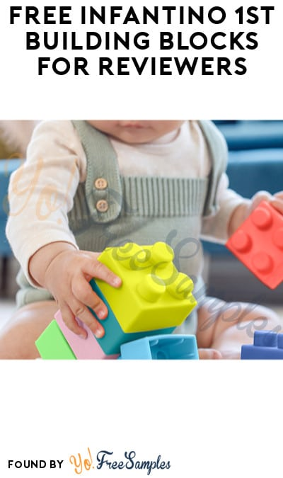 FREE Infantino 1st Building Blocks for Reviewers (Must Apply)