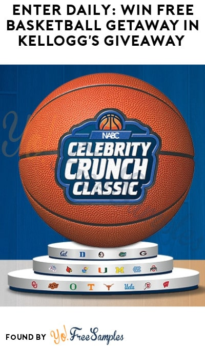 Enter Daily: Win FREE Basketball Getaway in Kellogg's Giveaway