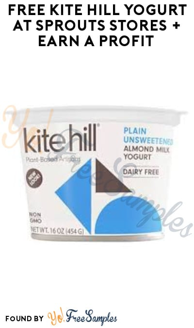 FREE Kite Hill Yogurt at Sprouts Stores + Earn A Profit (App & Ibotta Required)