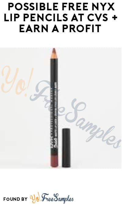 Possible FREE NYX Lip Pencils at CVS + Earn A Profit (App/ Coupon Required)