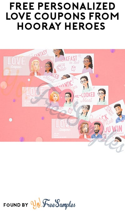 FREE Personalized Love Coupons from Hooray Heroes