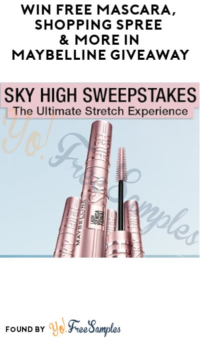 Win FREE Mascara, Shopping Spree & More in Maybelline Giveaway