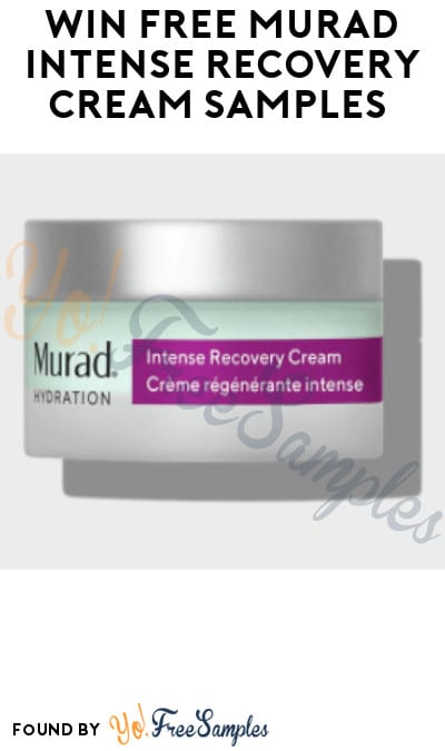 Possible FREE Murad Intense Recovery Cream Samples (Instagram Required)