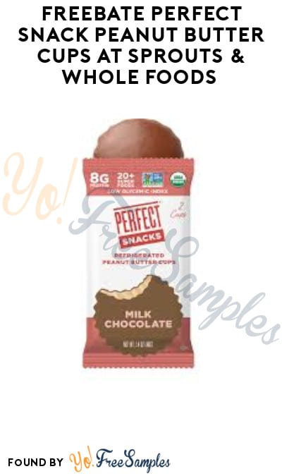 FREEBATE Perfect Snack Peanut Butter Cups at Sprouts & Whole Foods (Ibotta Required)