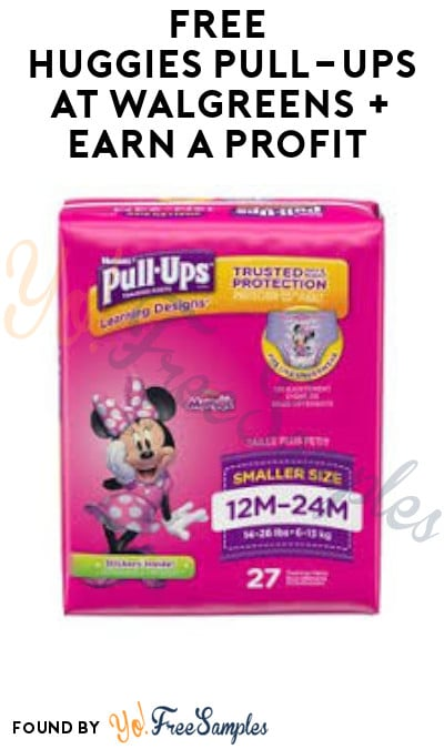 FREE Huggies Pull-Ups at Walgreens + Earn A Profit (Clearance, Coupons, Fetch Rewards & Ibotta Required)