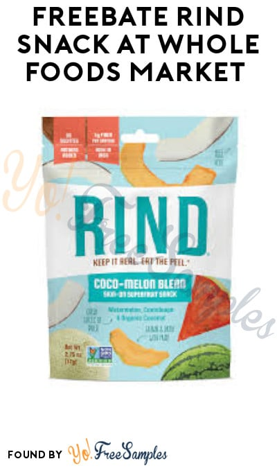 FREEBATE Rind Snack at Whole Foods Market (Ibotta Required)