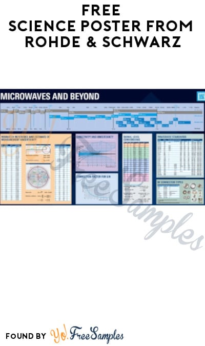 FREE Science Poster from Rohde & Schwarz