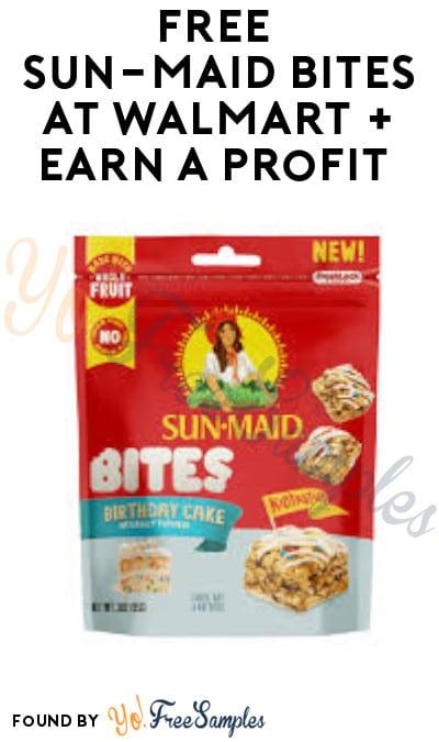 FREE Sun-Maid Bites at Walmart + Earn A Profit (Ibotta & Fetch Rewards Required)