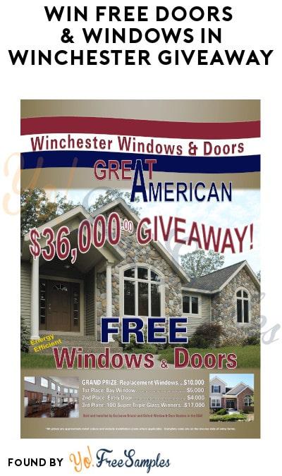 Win FREE Doors & Windows in Winchester Giveaway