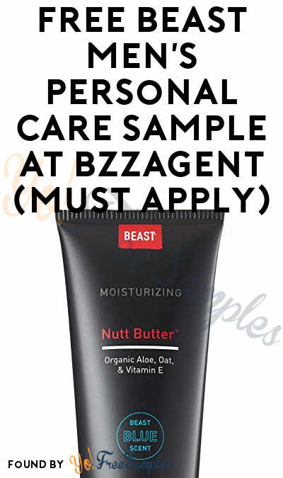 FREE Beast Men's Personal Care Sample At BzzAgent (Must Apply)