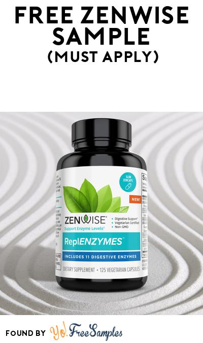 FREE Zenwise Sample At BzzAgent (Must Apply)