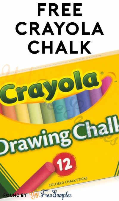FREE Crayola Chalk