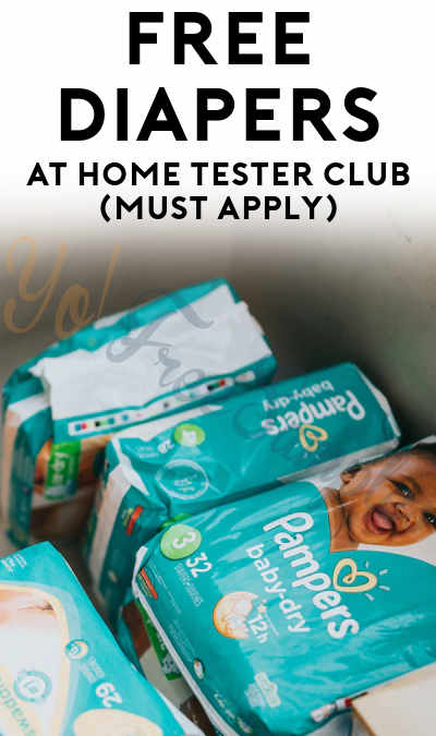 FREE Diapers At Home Tester Club (Must Apply)