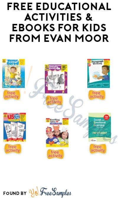 FREE Educational Activities & eBooks for Kids from Evan Moor