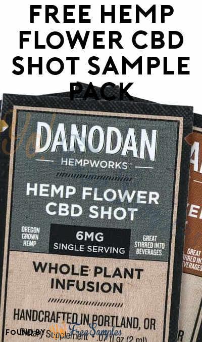 FREE Hemp Flower CBD Shot Sample Pack