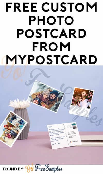FREE Custom Photo Postcard From MyPostcard