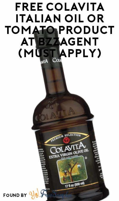 FREE Colavita Italian Oil or Tomato Product At BzzAgent (Must Apply)