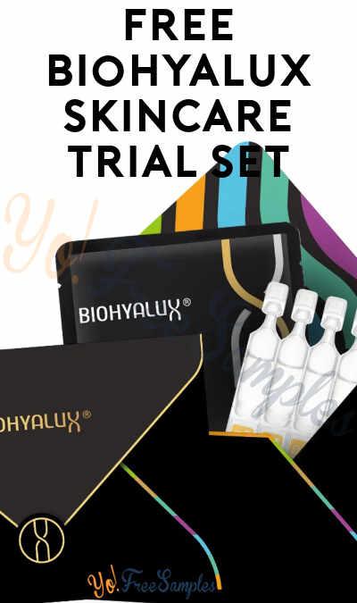 FREE Biohyalux Skincare Trial Set