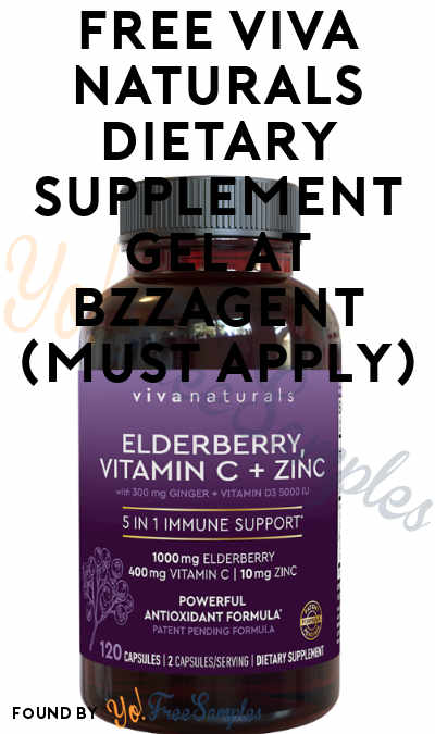 FREE Viva Naturals Dietary Supplement Gel At BzzAgent (Must Apply)