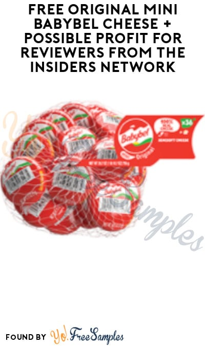 FREE Original Mini Babybel Cheese + Possible Profit for Reviewers from The Insiders Network (Must Apply + Costco Members Only)