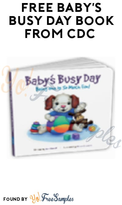 FREE Baby's Busy Day Book from CDC