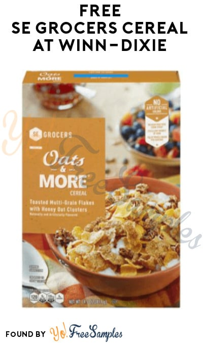 FREE SE Grocers Cereal at Winn-Dixie (Account/ Coupon Required)