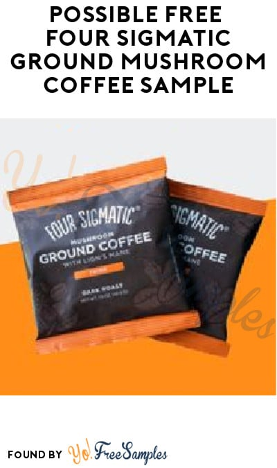 Possible FREE Four Sigmatic Ground Mushroom Coffee Sample (Facebook Required)