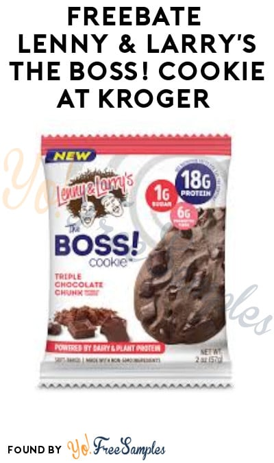 FREEBATE Lenny & Larry's The Boss! Cookie at Kroger (Ibotta Required)