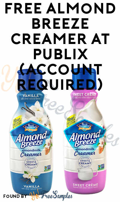 FREE Almond Breeze Creamer At Publix (Account Required)