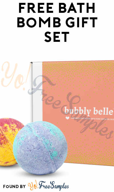 FREE Bath Bomb Gift Set