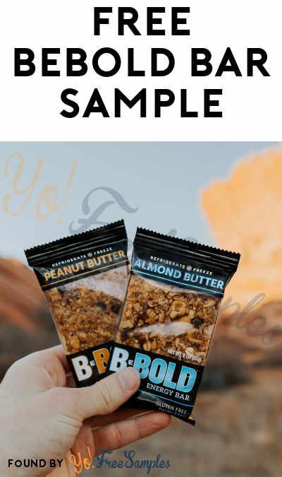 FREE BeBOLD Bar Sample