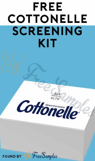 FREE Cottonelle Screening Kit