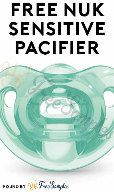 FREE NUK Sensitive Pacifier