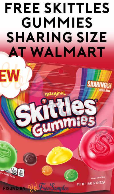 FREE Skittles Gummies Sharing Size at Walmart