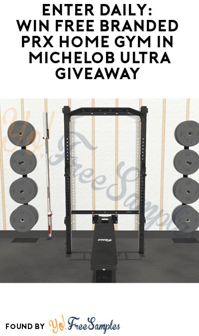 Enter Daily: Win FREE Branded PRx Home Gym in Michelob Ultra Giveaway (Ages 21 & Older Only)