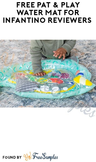 FREE Pat & Play Water Mat for Infantino Reviewers (Must Apply)