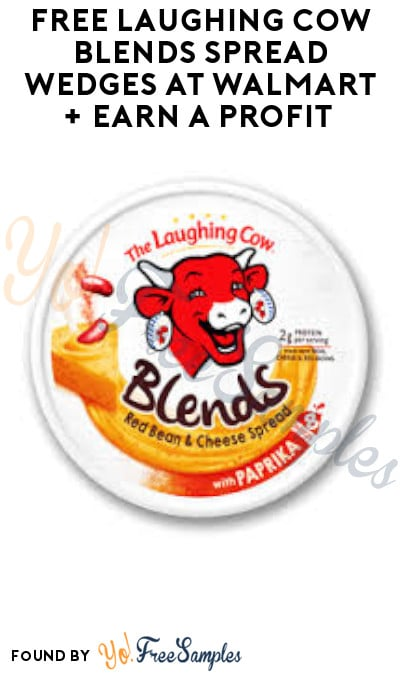 FREE Laughing Cow Blends Spread Wedges at Walmart + Earn A Profit (Ibotta Required)
