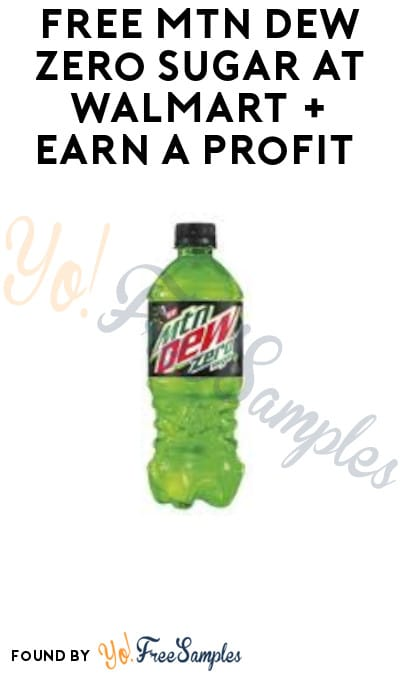 FREE Mtn Dew Zero Sugar at Walmart + Earn A Profit (Ibotta Required)
