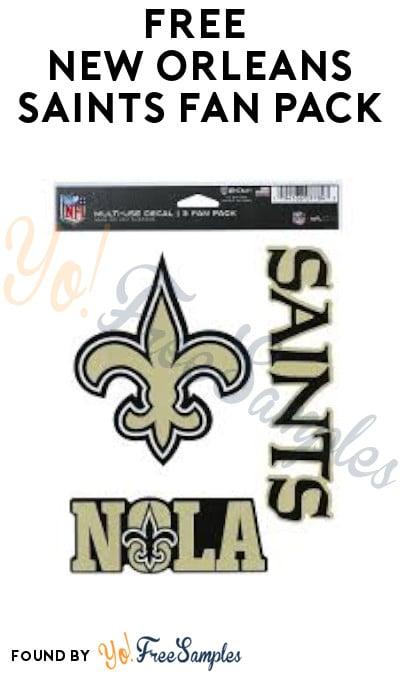 FREE New Orleans Saints Fan Pack
