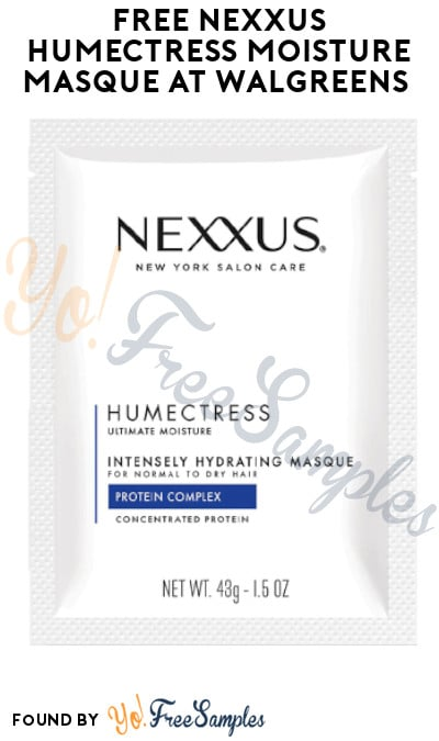 FREE Nexxus Humectress Moisture Masque at Walgreens (Coupon Required)