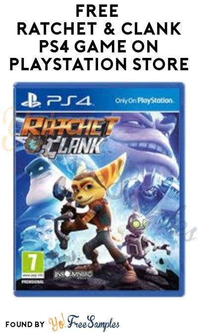 FREE Ratchet & Clank PS4 Game on PlayStation Store (Sony Account Required)