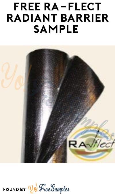 FREE Ra-flect Radiant Barrier Sample