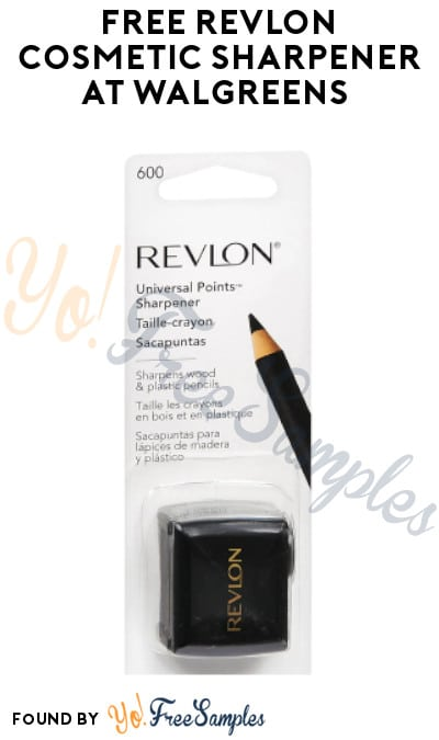 FREE Revlon Cosmetic Sharpener at Walgreens (Coupon Required)
