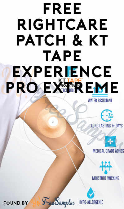 FREE RightCare Patch & KT Tape Experience PRO EXTREME