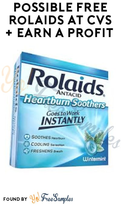Possible FREE Rolaids at CVS + Earn A Profit (App/ Coupons Required)