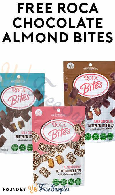 FREE ROCA Chocolate Almond Candy Bites
