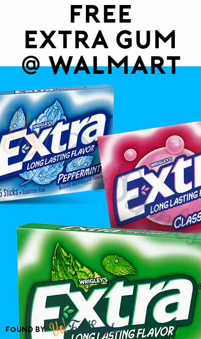 FREE Extra Gum At Walmart