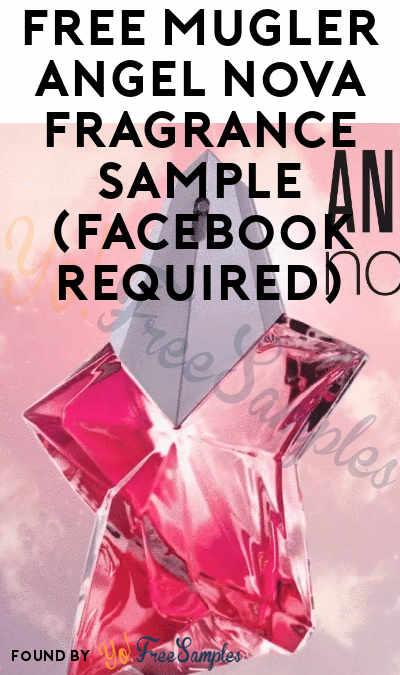 Possible FREE MUGLER Angel Nova Fragrance Sample (Facebook Required)
