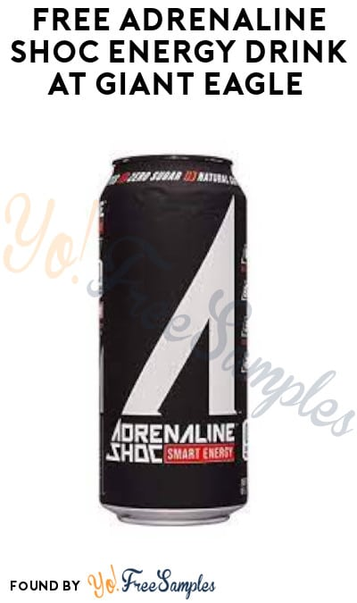 FREE Adrenaline Shoc Energy Drink at Giant Eagle (Account/ Coupon Required)